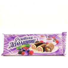 Мини — рулет Домашние лесная ягода, 150г
