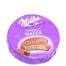 Вафли Milka с начинкой какао,покрытые молочным шоколадом, 30 гр