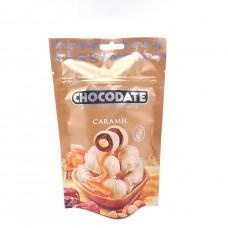 Финики CHOCODATEв шоколаде с миндалем со вкусом карамели 100гр