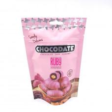Финики CHOCODATEв шоколаде с миндалем со вкусом рубиновых бобов 100гр
