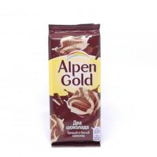 Шоколад Alpen Gold два шоколада 85 гр