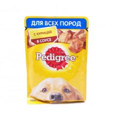 Корм для собак Pedigree с курицей в соусе 85гр