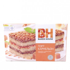 Торт Baker Haus бисквитный Кармельон 350гр