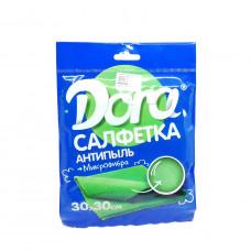 Салфетка Dora микрофибра антипыль 30*30 см