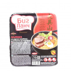 Лапша Биг Ланч Дагшан говядина 90 гр контейнер
