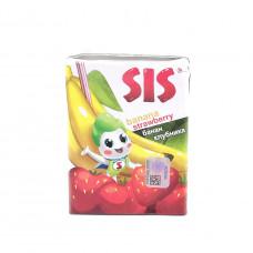 Нектар Клубнично банановый SIS 0,2л