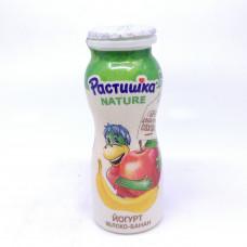 Йогурт Растишка питьевой яблоко-банан 90гр.