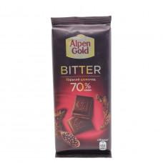 Шоколад Alpen Gold Bitter 70%, 85г