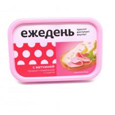 Продукт плавленный с сыром Ежедень С ветчиной 180гр