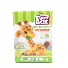HAPPY BOX Джунгли фигурка +карамель в коробочке 18гр
