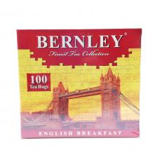 Чай Bernley English Breakfast черный байховый цейлонский 100 шт
