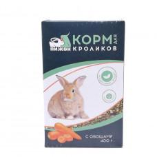 Корм Пижон для кроликов с овощами  400гр