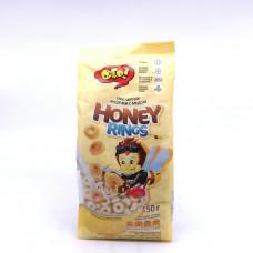 Завтрак сух Колечки с медом ОГО 150гр