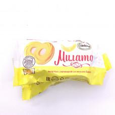 Конфета-печенье Милато со вкусом банана