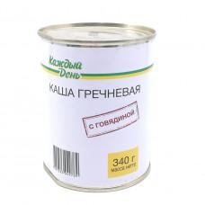 Каша гречневая с говядиной Каждый День 340 гр