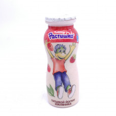 Йогурт Растишка питьевой земляника 90гр