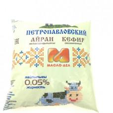 Кефир Масло-Дел обезжиренный 0.05%, 0.5л
