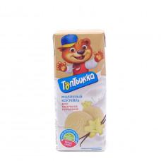 Коктейль молочный Топтыжка ванильное мороженое 3.2%, 200мл