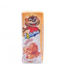 Коктейль молочный Топтыжка карамельная ириска 3.2%, 200мл