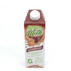Напиток Green Milk шоколад на овсяной основе 750 мл