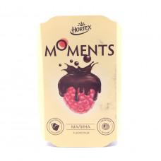 Мороженое Moments малина в тем. шок 100 гр