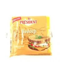 Сыр President Чеддер 40%, 150г
