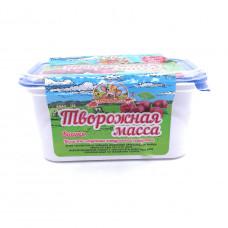 Масса творожная Продукт Масленково Вишня 20%, 450 гр