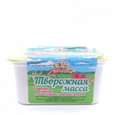 Масса творожная Продукт Масленково с клубникой и мюсли, 20% 450