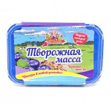 Масса творожная Продукт Масленково Черника-Мюсли 20%, 450 гр