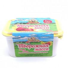 Масса творожная Продукт Масленково с яблоком и бананом 20% 450гр