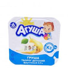 Творог Агуша детский груша с 6 месяцев 3.9%, 100г