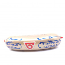 Колбаса Ливерная с печенью Омский Бекон, 250г