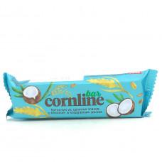 Батончик злаковый KDV Cornline Bar с кокосом и воздушным рисом, 30г
