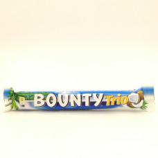 Батончик шоколадный Bounty Trio с кокосом, 82.5г