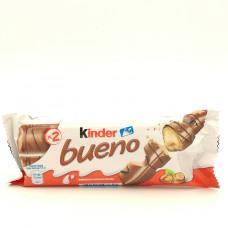 Батончик вафельный Kinder Bueno с молочно-ореховой начинкой, 43г
