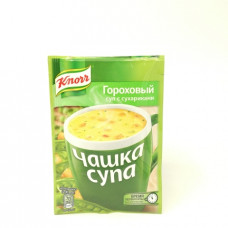Суп Knorr Чашка Супа Гороховый с сухариками, 21г
