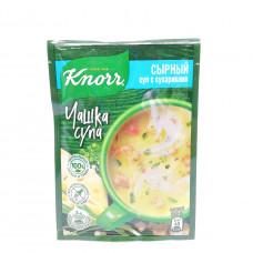 Суп Knorr Чашка Супа Сырный с сухариками 16 гр