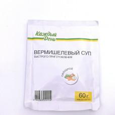 Суп Каждый День вермишелевый овощной 60гр