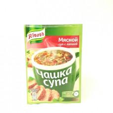 Суп Knorr Чашка Супа Мясной с лапшой, 14г