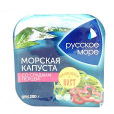 Морская капуста с луком и перцем Русское Море, 200г