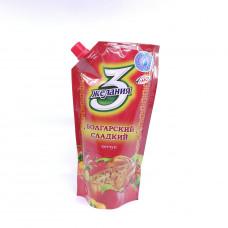 Кетчуп 3 желания Болгарский сладкий 450 гр
