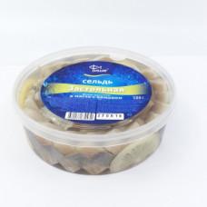 Сельдь Застольная филе в масле с лимоном 500 гр