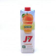 Сок J-7 Squaer апельсин 1,0л