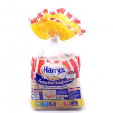 Хлеб Harryc пшеничный с отрубями для сэндвича, 470г