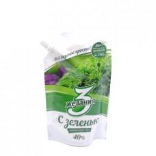 Майонез 3 желания с зеленью 40%, 190 гр