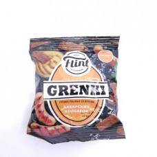 Сухарики Flint Grenki ржаные баварские колбаски 70 гр
