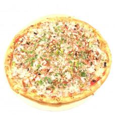 Пицца с грибами, сыром и копченой курицей, большая, Ø 31 СЕВЕРНЫЙ 2