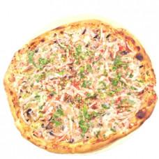 Пицца с ветчиной и грибами, большая, Ø 31 СЕВЕРНЫЙ 2