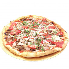 Пицца с говядиной, ветчиной и помидорами, большая, Ø 31 СЕВЕРНЫЙ 2