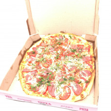 Пицца с помидорами и салями, большая, Ø 31 СЕВЕРНЫЙ 2